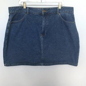 Forever 21 Jean Miniskirt